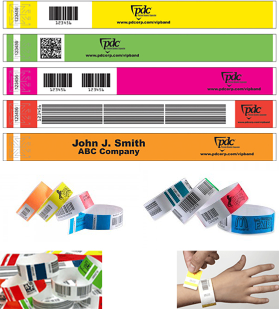 Barcoded TicketBand